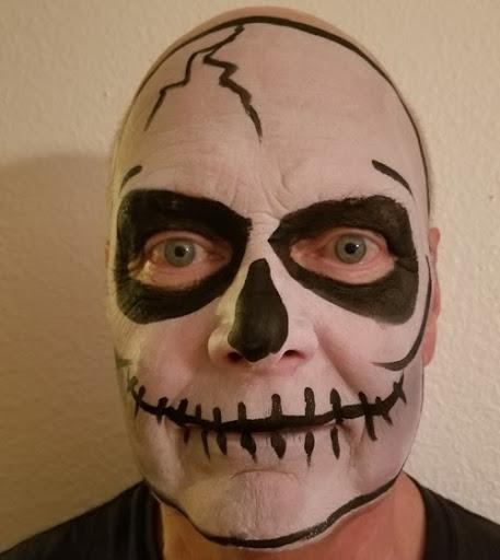 skeleton-face